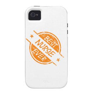 Best Nurse Ever Orange iPhone 4 Covers