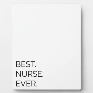 Best. Nurse. Ever. Plaque
