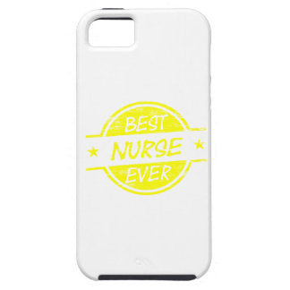 Best Nurse Ever Yellow iPhone 5 Cover