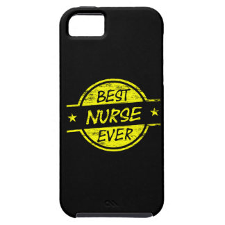 Best Nurse Ever Yellow Cover For iPhone 5/5S