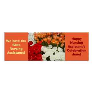 Best Nursing Assistants posters Celebration June