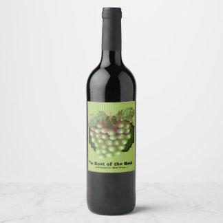 BEST OF BEST  WINE LABLE BOTTLE WINE LABEL