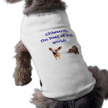Best of both worlds dog t shirt