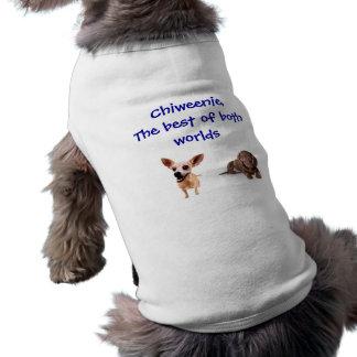 Best of both worlds sleeveless dog shirt