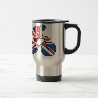 Best of British, Cycling, Union Jack Travel Mug