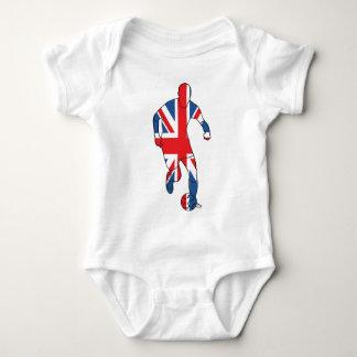 Best of British, Football Baby Bodysuit