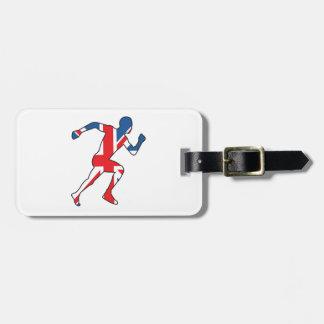 Best of British Sport Athlete Luggage Tag
