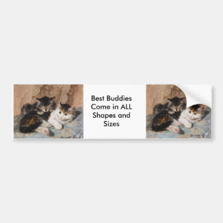 Best of Friends Bumper Sticker