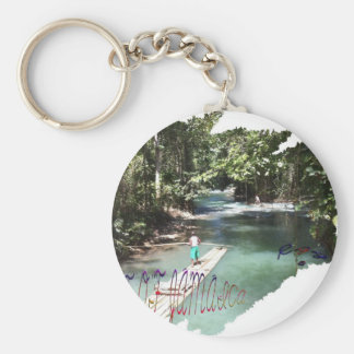 Best of Jamaica Basic Round Button Key Ring