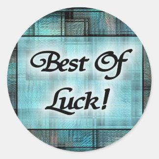 Best Of Luck! Sticker