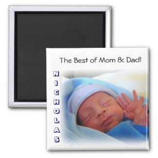Best of Mom & Dad! Nicholas Magnet