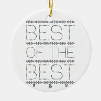 best-of-the-best ceramic ornament