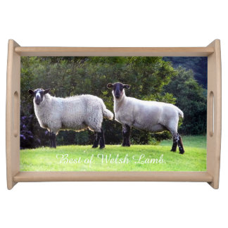 Best of Welsh Lamb. Serving Tray