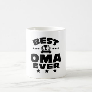 BEST OMA EVER COFFEE MUG
