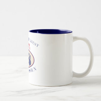 Best Opa Hands Down Two-Tone Mug
