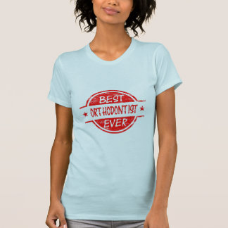 Best Orthodontist Ever Red T-Shirt