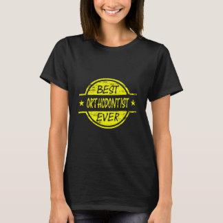 Best Orthodontist Ever Yellow T-Shirt