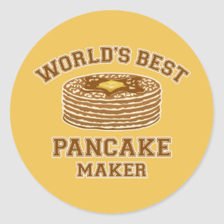 Best Pancake Maker Classic Round Sticker