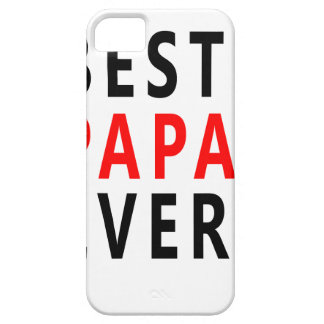 Best Papa Ever iPhone 5 Cases