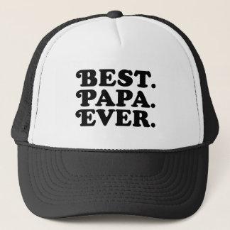 Best Papa Ever Trucker Hat