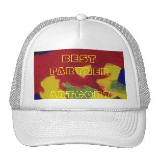 Best Partner Hot Colors Painting Cap