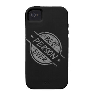 Best Person Ever Gray iPhone 4/4S Case