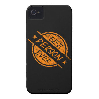 Best Person Ever Orange Case-Mate iPhone 4 Case