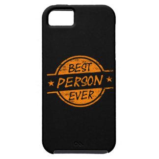 Best Person Ever Orange iPhone 5/5S Case