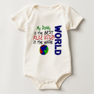 Best Police Officer In World 2 (Daddy) Baby Bodysuit