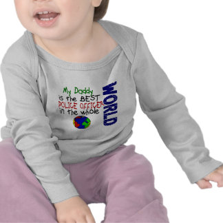 Best Police Officer In World 2 (Daddy) Tee Shirts