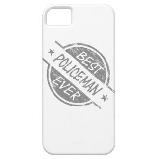 Best Policeman Ever Gray iPhone 5 Cases