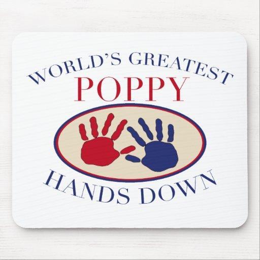 Best Poppy Hands Down Mouse Mats