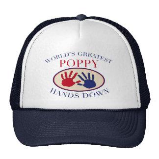 Best Poppy Hands Down Trucker Hat