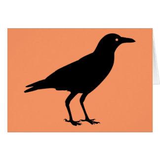 Best Price Black Crow Happy Halloween Greeting Greeting Card