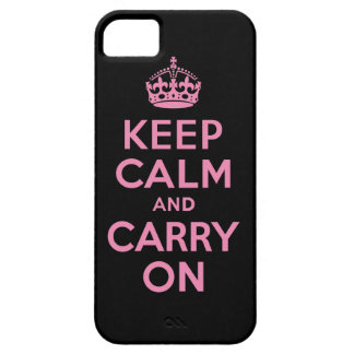 Best Price Keep Calm And Carry On Pink and Black