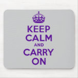 Best Price Keep Calm And Carry On Purple