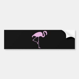 Best Price Pink Flamingo Bumper Sticker