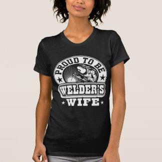 Best Proud To Be Welder's Wife T-Shirt