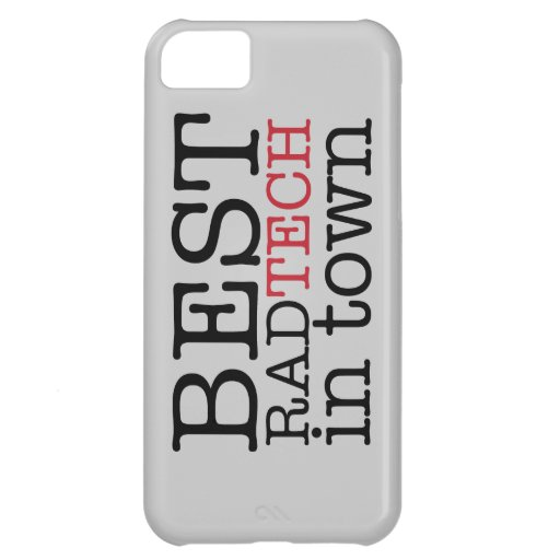 Best Rad Tech in Town iPhone 5C Covers