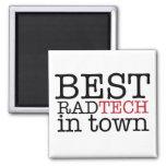 Best Rad Tech in Town Magnet