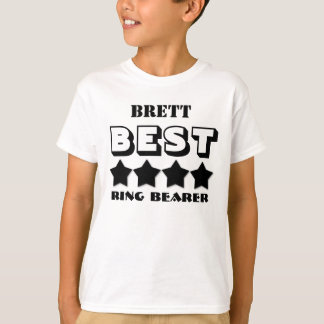 Best RING BEARER Wedding Party Favor V04 T-Shirt