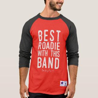 Best Roadie (maybe) (wht) T-Shirt