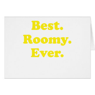 Best Roomy Ever Greeting Card