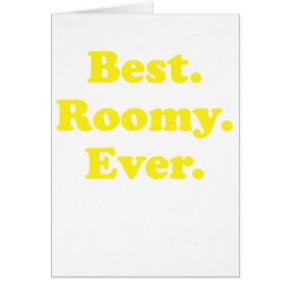 Best Roomy Ever Card