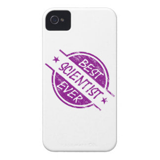 Best Scientist Ever Purple iPhone 4 Cover