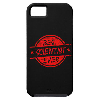 Best Scientist Ever Red iPhone 5 Cover