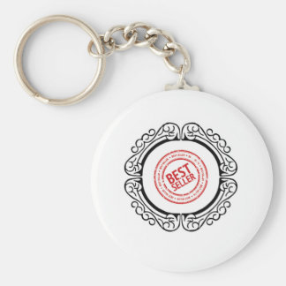 best seller in a frame basic round button key ring