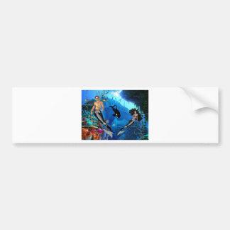 Best Seller Merrow Mermaid Bumper Stickers