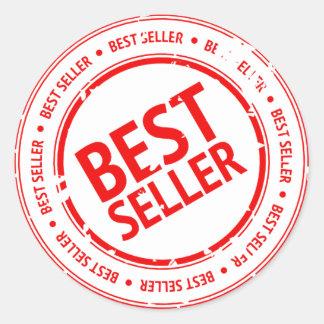 Best Seller Sign Round Sticker