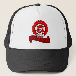 Best Seller Sugar Skull Trucker Hat